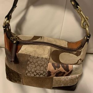 Classic Coach Patchwork Purse